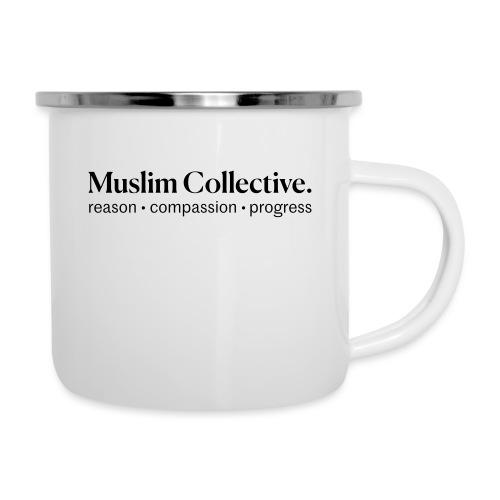 Muslim Collective Logo + tagline - Camper Mug