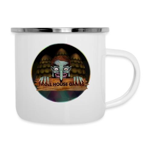 Troll House Games Logo - Camper Mug