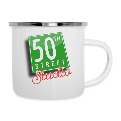 50th Street Studio LOGO - Camper Mug