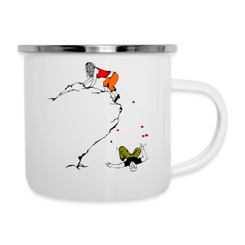 Lady Climber - Camper Mug