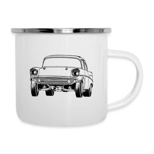Gasser Up 1957 Chevy Drag Car - Camper Mug