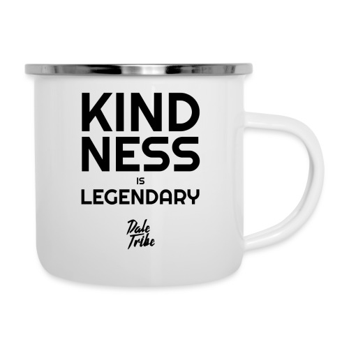 KINDNESS IS LEGENDARY BLACK - Camper Mug