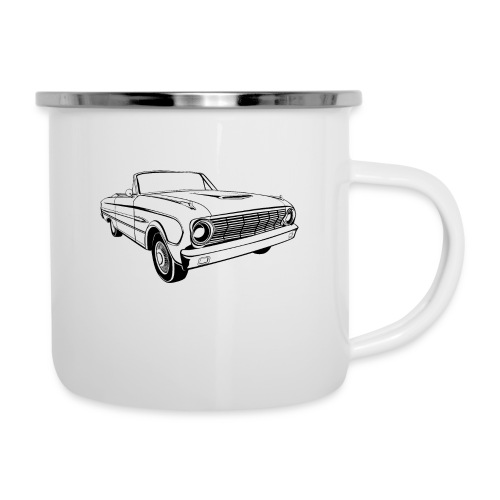 63 Ford Falcon Sprint Conv Men's T-Shirt - Camper Mug