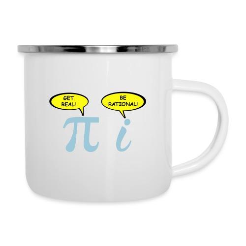 Get real Be rational - Camper Mug