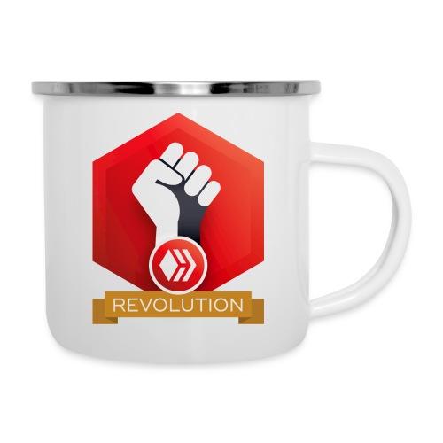 Hive Revolution Banner - Camper Mug