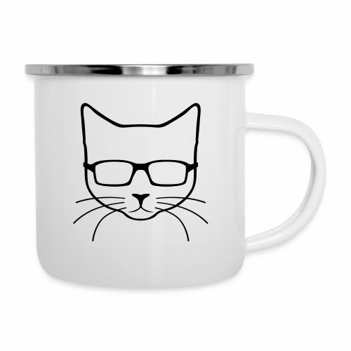 TheNerdyKitten Logo - Camper Mug