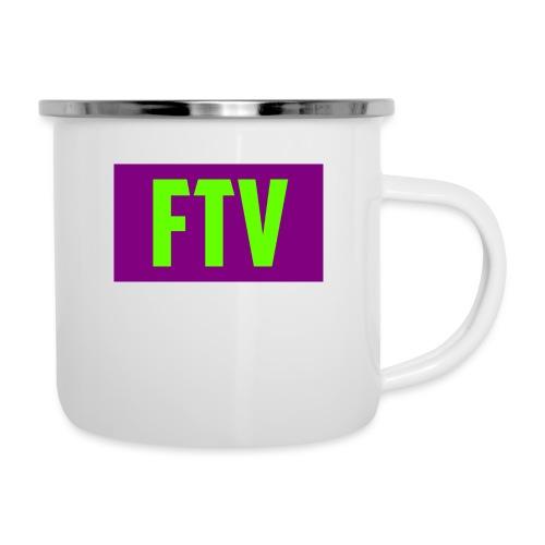 Green and Purple Mugs and MousePads - Camper Mug