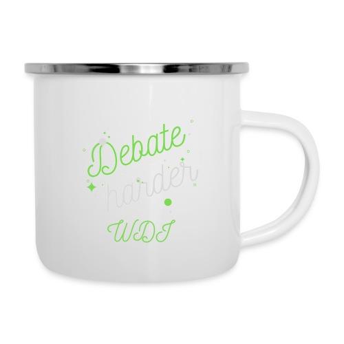 Debate Harder! - Camper Mug