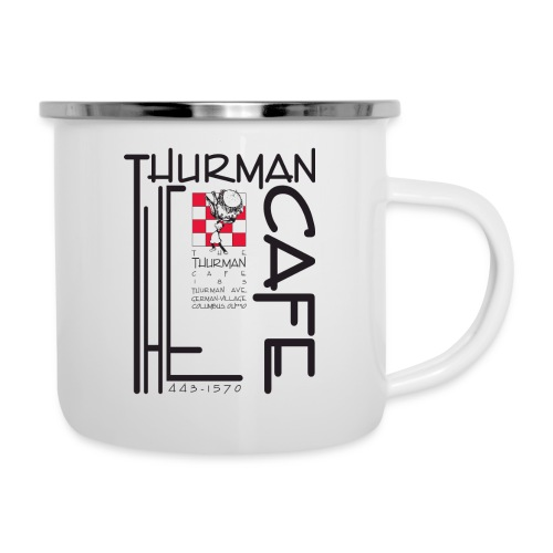 Thurman Cafe Traditional Logo - Camper Mug