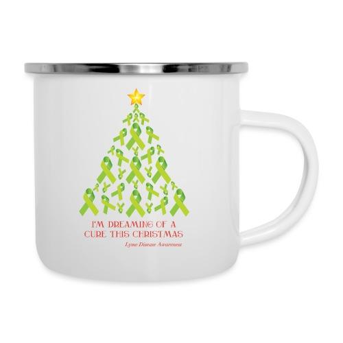 Lyme Free Christmas - White Edition - Camper Mug