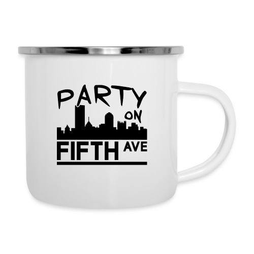 Party on Fifth Ave - Camper Mug
