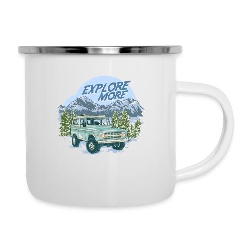 Bronco Truck Explore more II Graphic T-Shirt - Camper Mug