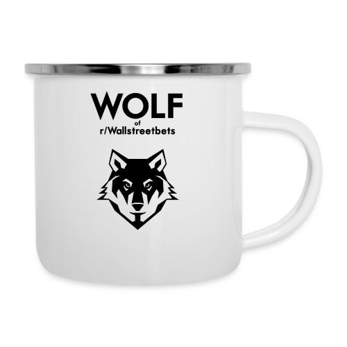 Wolf of Wallstreetbets - Camper Mug