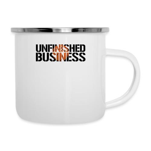 Unfinished Business hoops basketball - Camper Mug