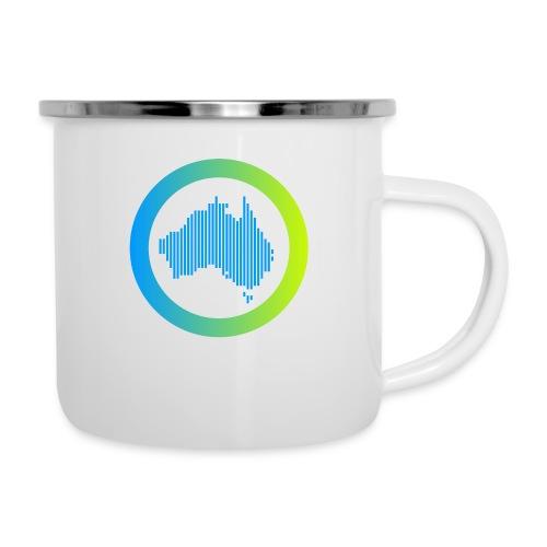 Gradient Symbol Only - Camper Mug