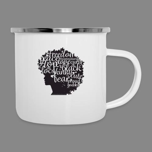 Afro Text II - Camper Mug