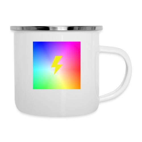 Rainbow lightning t-shirt - Camper Mug