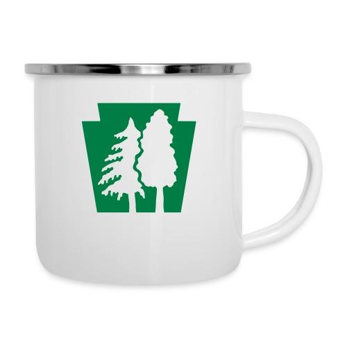 PA Keystone w/trees - Camper Mug