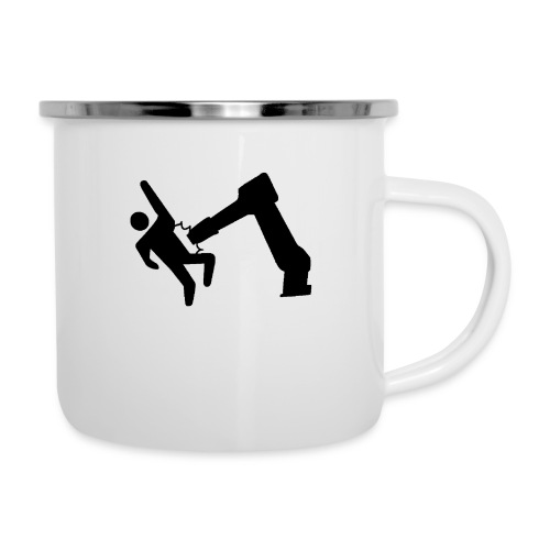 Robot Wins! - Camper Mug