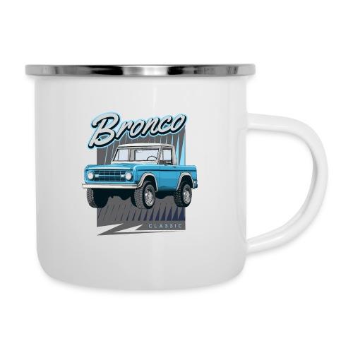 BRONCO Blue Half Cap Truck T-Shirt - Camper Mug