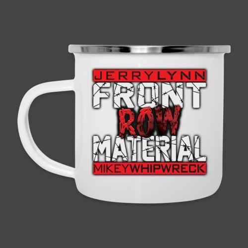 Front Row Material Logo - Camper Mug