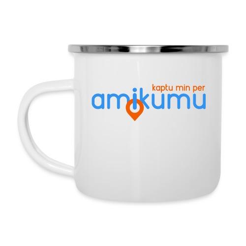 Kaptu min per Amikumu Blua - Camper Mug