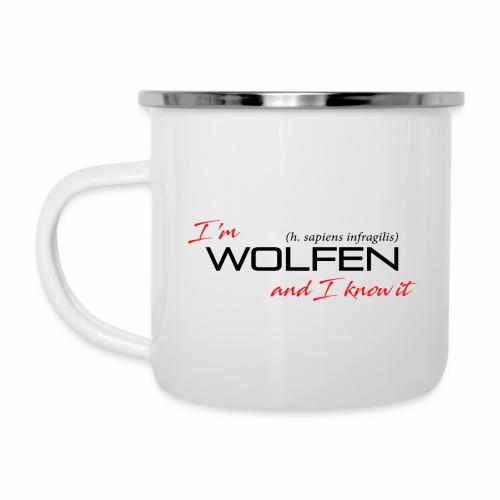 Wolfen Attitude on Light - Camper Mug