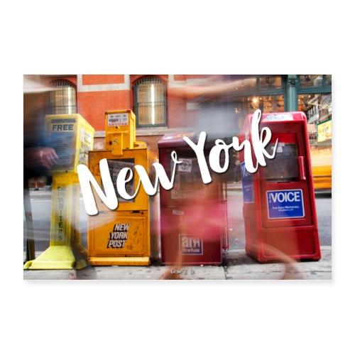 New York Run - Poster 36x24