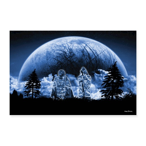 Grandmother moon ancestors - Poster 36x24