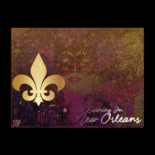 An Evening In New Orleans 2 - Poster 24x18