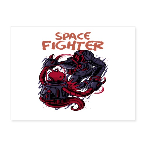 Space Fighter - Poster 24x18