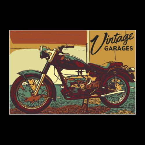 PosterVintage2 - Poster 12x8