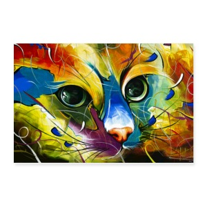 Face Cat master - Poster 12x8