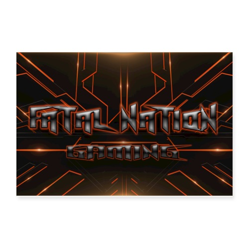 Fatal Nation - Poster 12x8