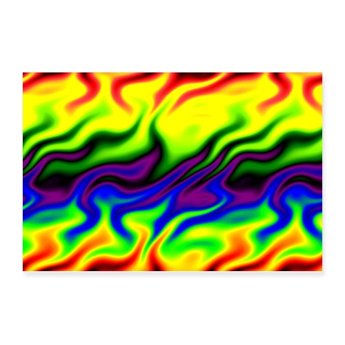 Catch A Fire Reggae and Full Color Spectrum - Poster 12x8