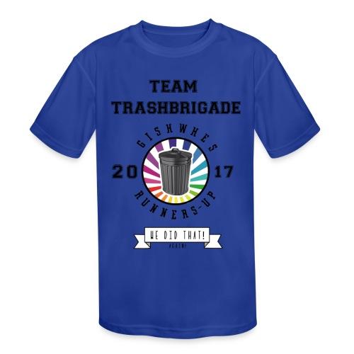 TrashBrigade 2017 - Kids' Moisture Wicking Performance T-Shirt