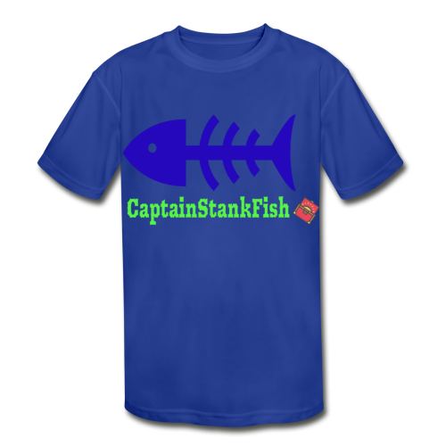 A Shirt for a Stanky Person - Kids' Moisture Wicking Performance T-Shirt