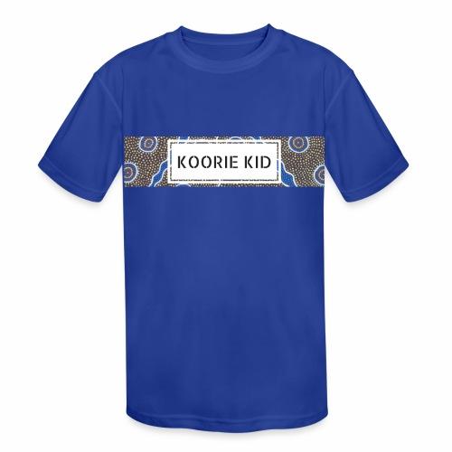 KOORIE KID - Kids' Moisture Wicking Performance T-Shirt