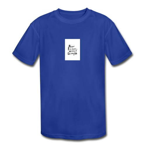 Throw kindness around - Kids' Moisture Wicking Performance T-Shirt
