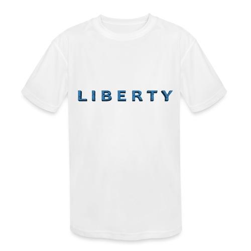 Liberty Libertarian Design - Kids' Moisture Wicking Performance T-Shirt