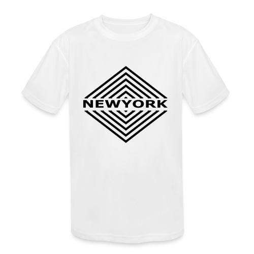 Newyork City by Design - Kids' Moisture Wicking Performance T-Shirt