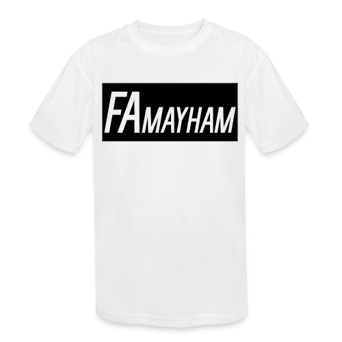 FAmayham - Kids' Moisture Wicking Performance T-Shirt
