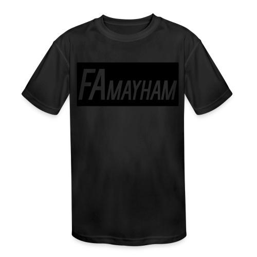 FAmayham - Kids' Moisture Wicking Performance T-Shirt