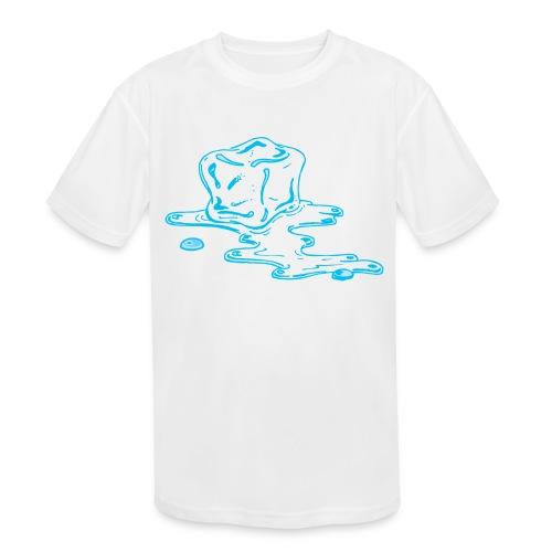 Ice melts - Kids' Moisture Wicking Performance T-Shirt
