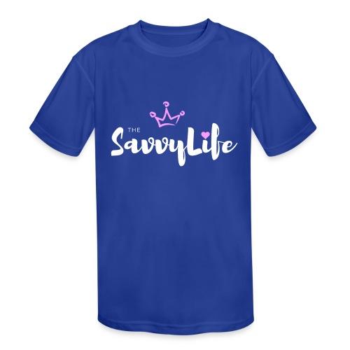 The Savvy Life - Kids' Moisture Wicking Performance T-Shirt