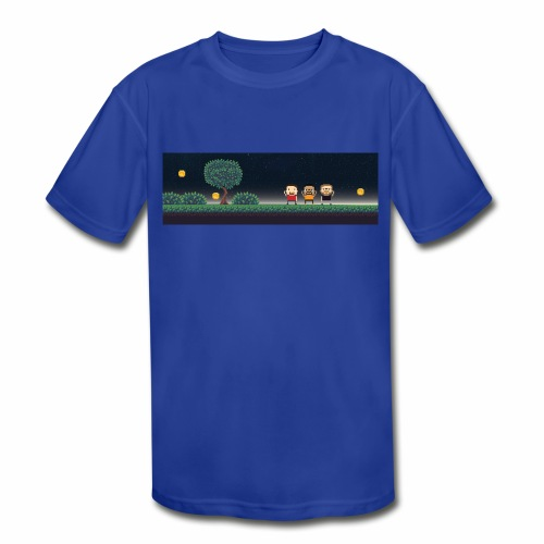 Twitter Header 01 - Kids' Moisture Wicking Performance T-Shirt