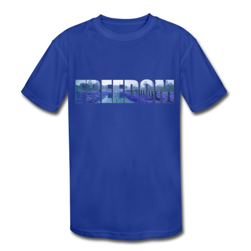 Freedom Photography Style - Kids' Moisture Wicking Performance T-Shirt