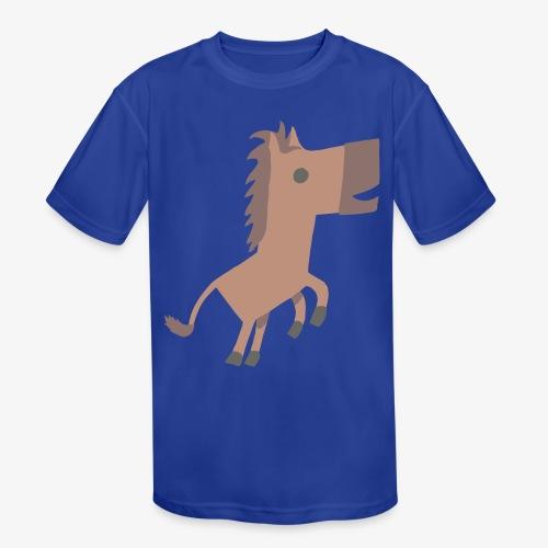 Horse - Kids' Moisture Wicking Performance T-Shirt