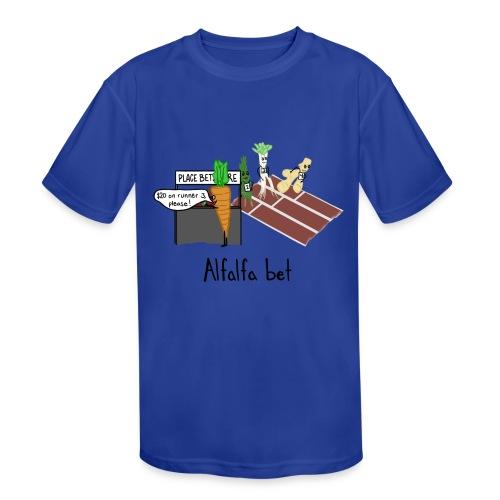 Alfalfa Bet - Kids' Moisture Wicking Performance T-Shirt