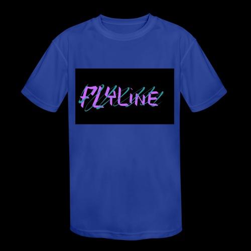Flyline fun style - Kids' Moisture Wicking Performance T-Shirt
